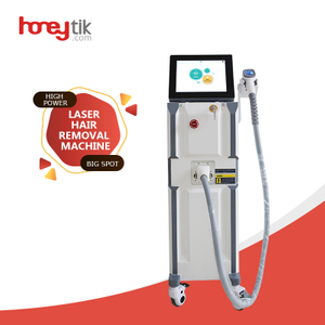 diode 808nm hair removal laser machine at low price hot sale big power long life spa use