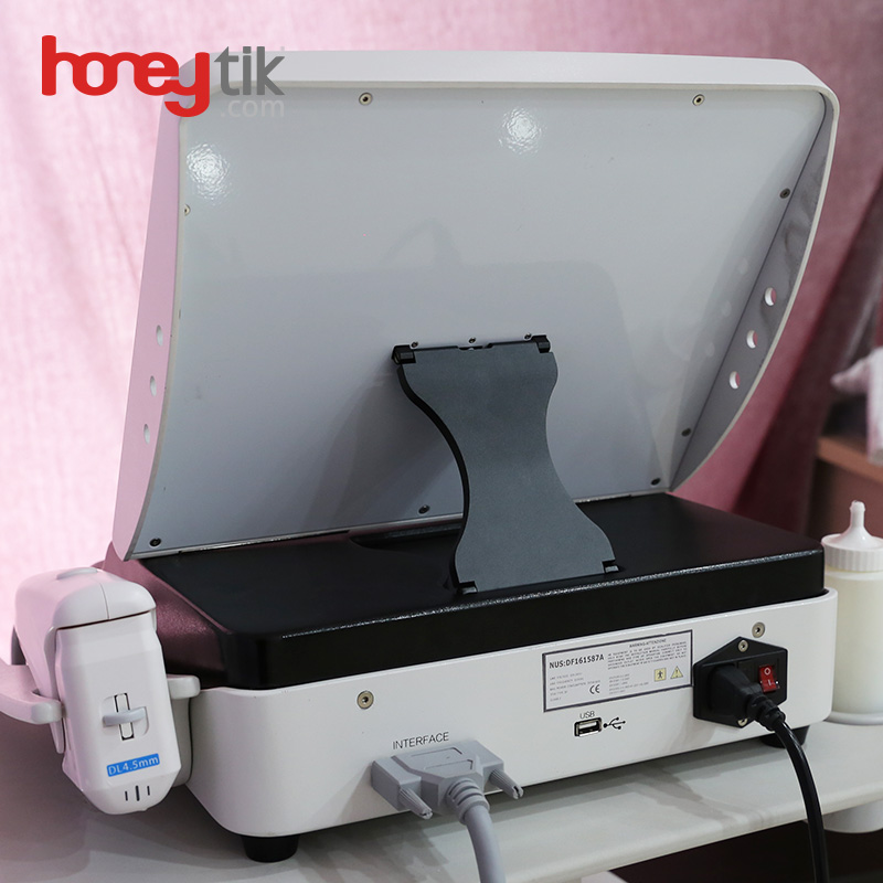 second machine hifu high intensity focused ultrasound 2 in 1