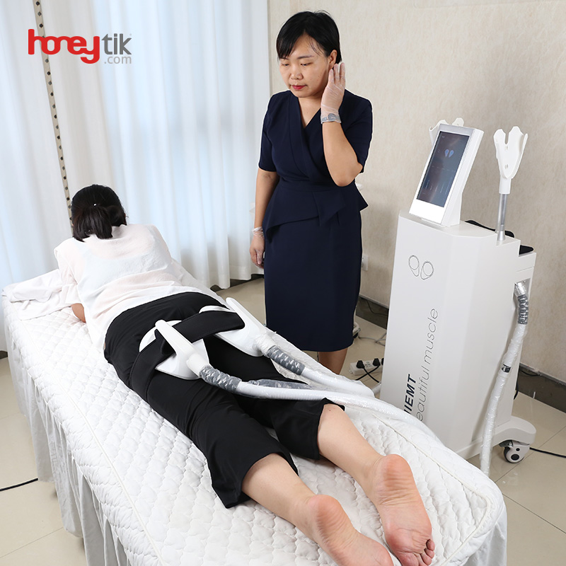 Hiemt Ems Sculpt Beauty Machine Hot Sale Clinic Use Weight Loss High Intensity Focused Muscle Building